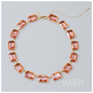 🔷JUST IN🔷WHBM Baguette Station Necklace NWT